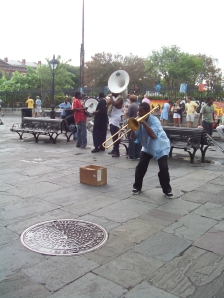 Musicians at Jackson Square