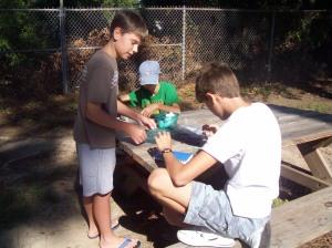 Letterboxing at Alligator Walk