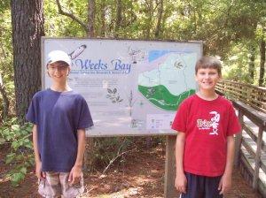 Weeks Bay Estuarian boardwalk trail