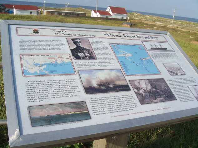 Ft Morgan info with scenic view