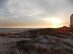 Biloxi Beach Sunset