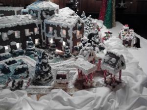 Grand Hotel Gingerbread display